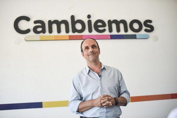 Precandidato a gobernador por Cambiemos José Corral<br>