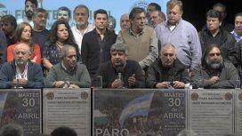 La mayor central obrera del mundo apoyó el paro convocado por el Frente Sindical