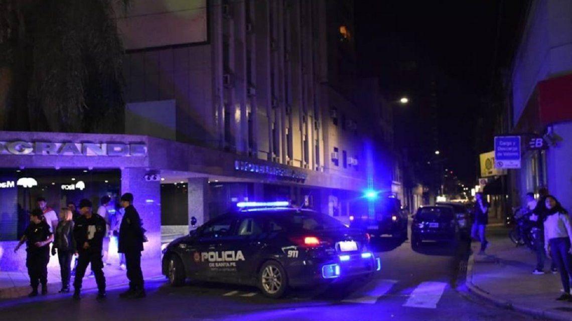 Desalojaron el búnker de Cambiemos en Santa Fe por una amenza de bomba