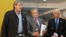 Eduardo Buzzi, Mario Llambías y Luciano Miguens