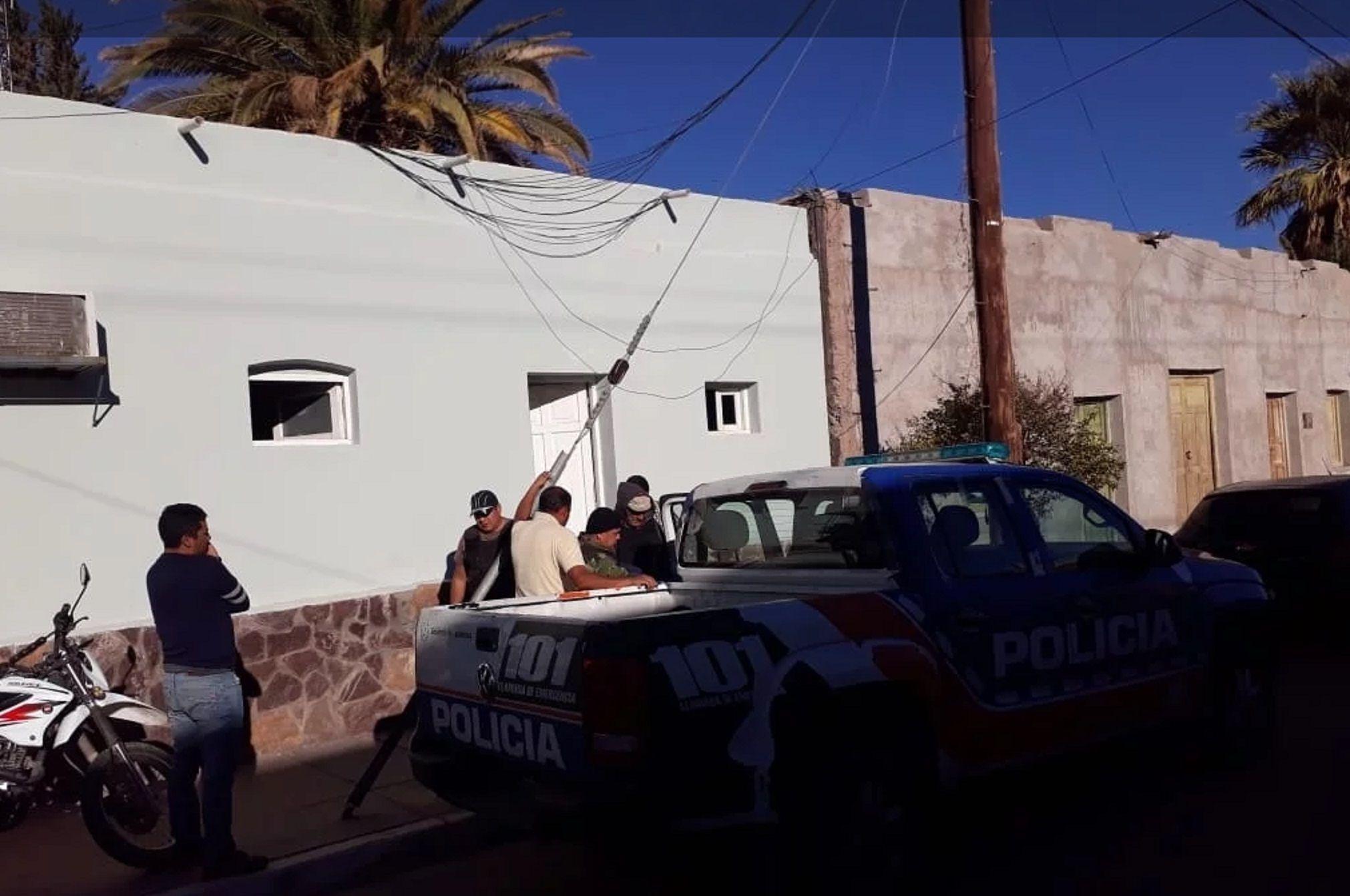 Lorenzo Quiroga fue detenido en su casa tras un allanamiento. Foto: El Ancasti.