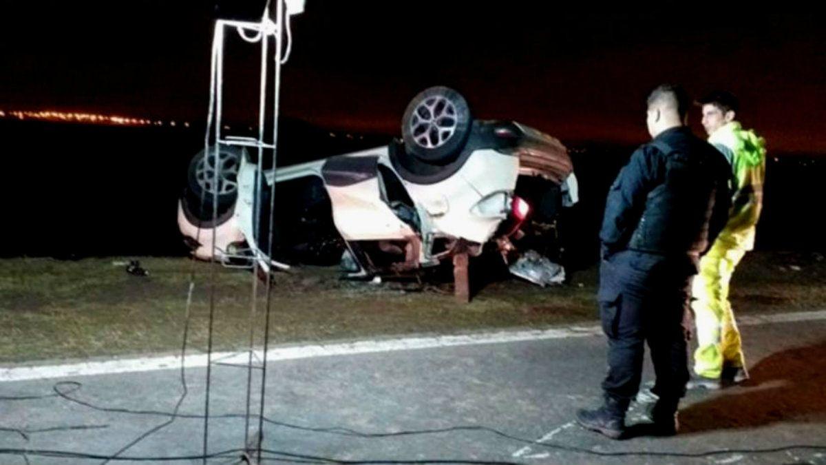 Una familia murió en un accidente de ruta tras despedirse de su hijo mayor
