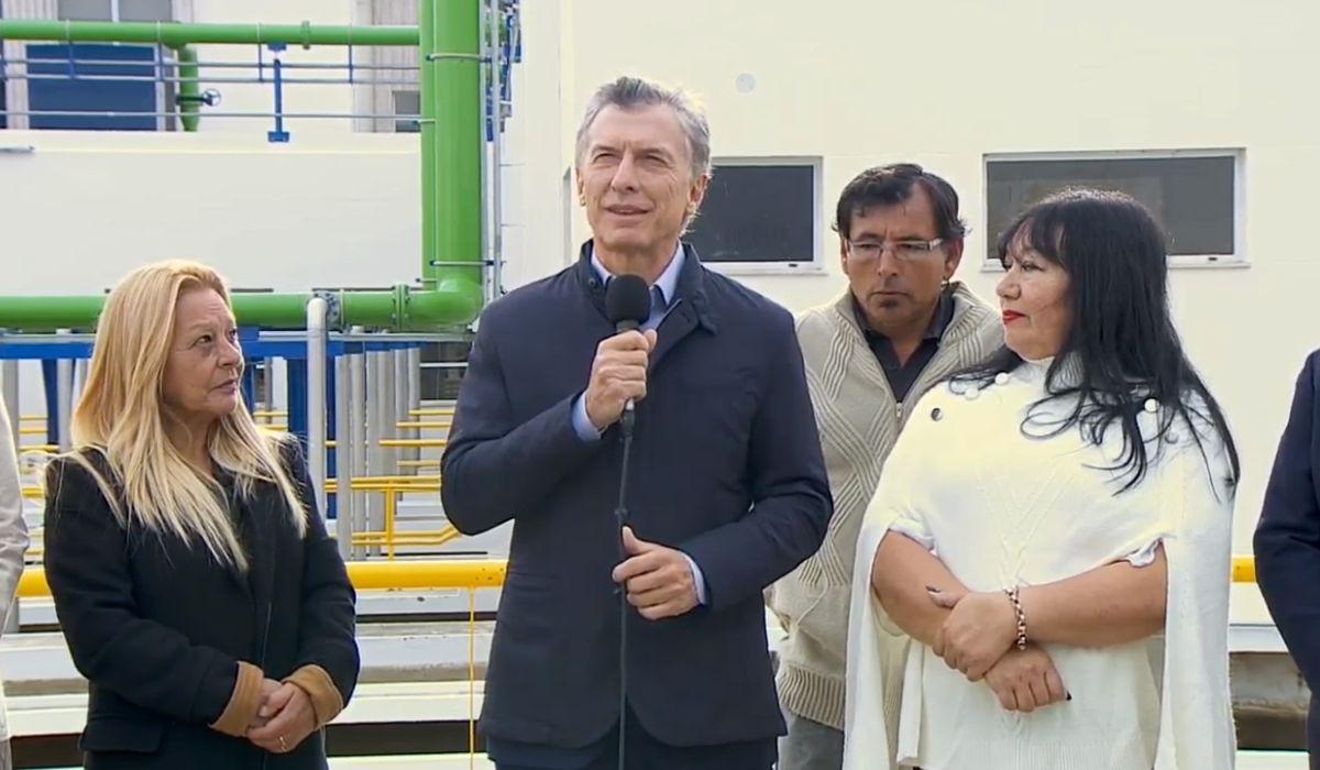 Macri: Arrancamos trabajando cuando otros deciden parar