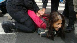 Represión en Avenida de Mayo y 9 de Julio durante la marcha: al menos 32 detenidos