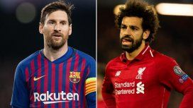 Para acercarse a la final: el Barcelona de Messi recibe al Liverpool de Salah y Klopp