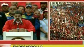 Maduro llamó a defender la Patria y avisó que irán presos los golpistas y criminales