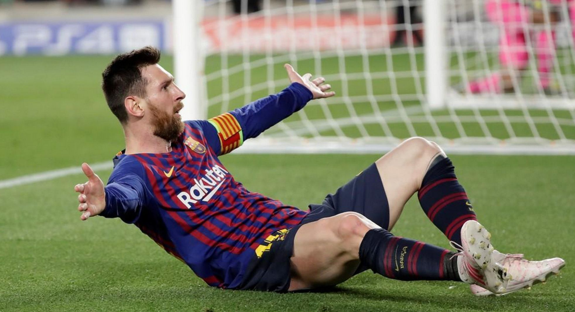 Messi y su gol de tiro libre: La verdad que entró espectacular