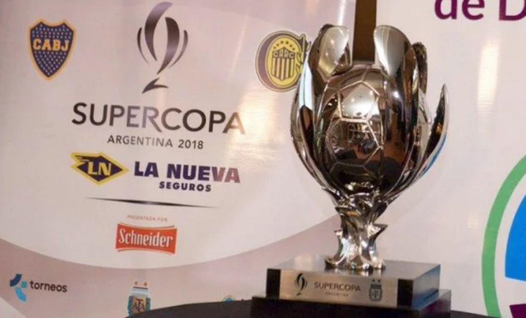 Boca vs Rosario Central en la final de la Supercopa Argentina: horario, formaciones y TV
