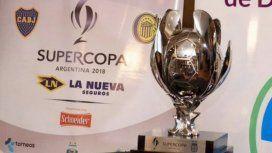 Boca y Rosario Central se enfrentan en la final de la Supercopa Argentina