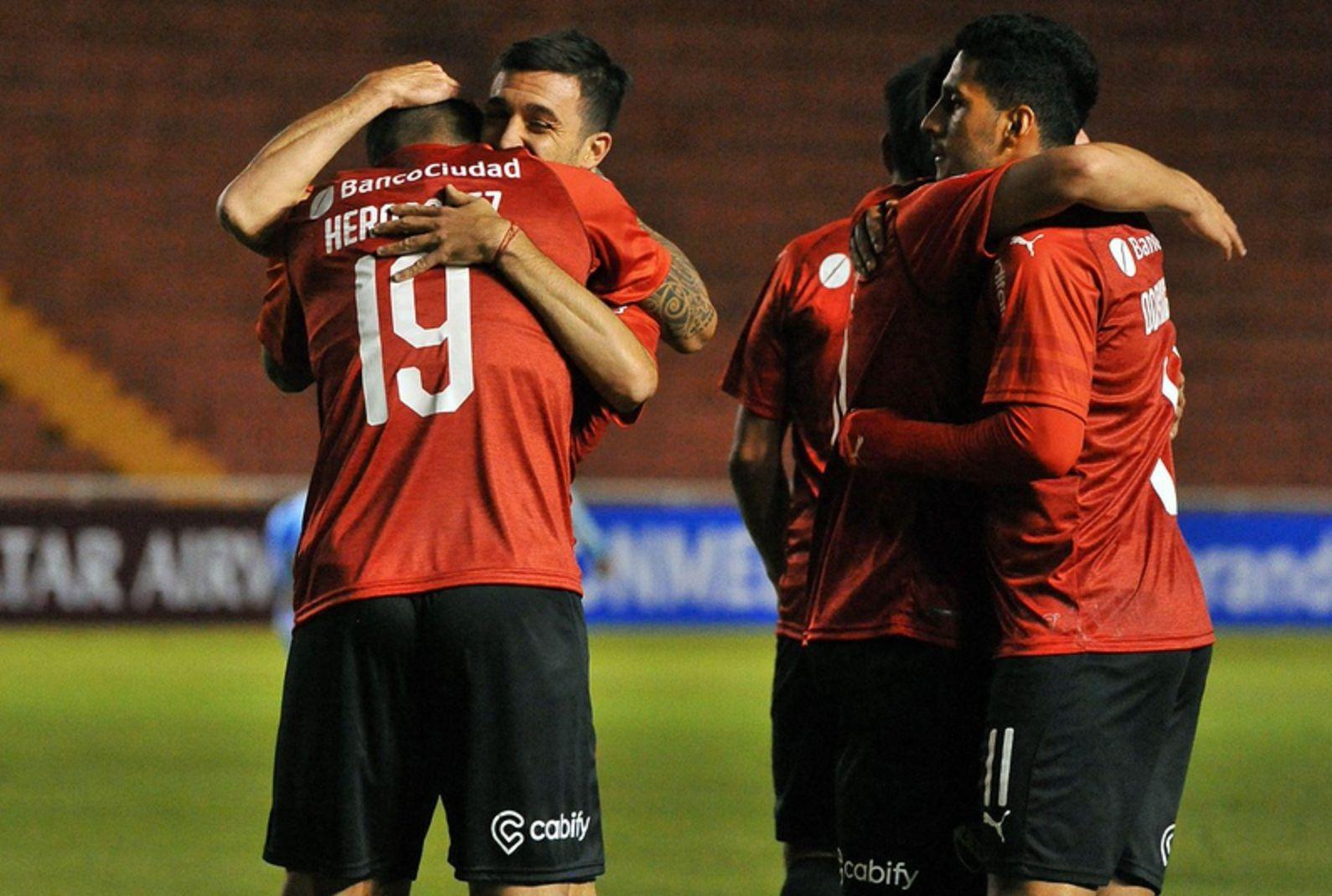 Independiente le ganó a Binacional en Perú por la Copa Sudamericana