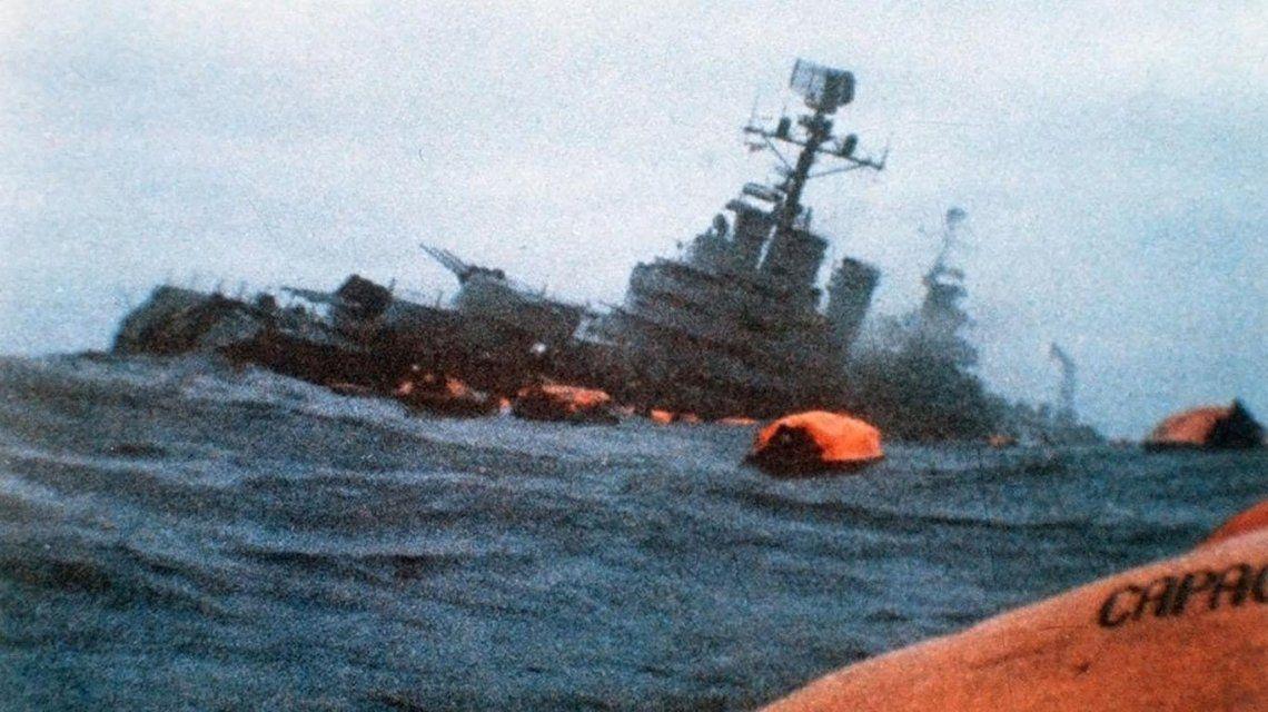Un tuit de la Armada sobre el aniversario del hundimiento del crucero  General Belgrano generó polémica y repudio