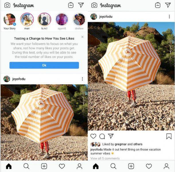 Instagram quiere esconder los likes