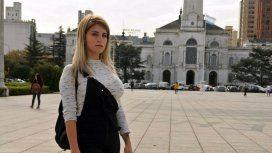Sonia, de 26 años, está por recibirse de la facultad