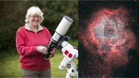 En cinco noches tomó una notable foto que fue reconocida por la NASA