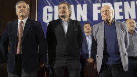 Felipe Solá, Máximo Kirchner y Pino Solanas
