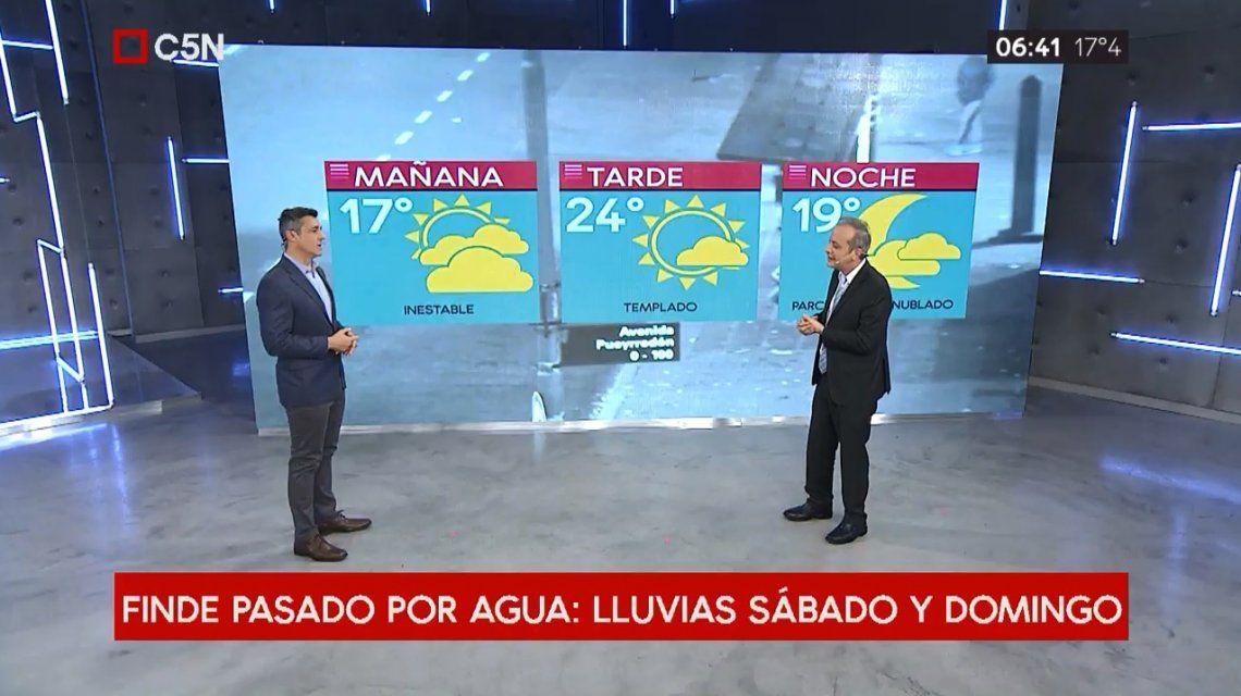 Pronóstico del tiempo del 3 de mayo de 2019