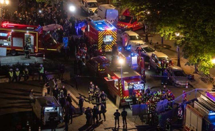 El operativo en Notre Dame involucró más de 600 bomberos