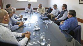 Espinoza se reunió con miembros de las 62 Organizaciones Gremiales Peronistas de La Matanza