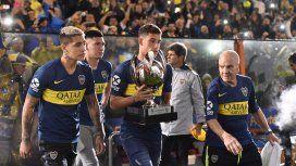 ¡No se puede creer! El desagradable gesto de Boca para River en los festejos por la Supercopa