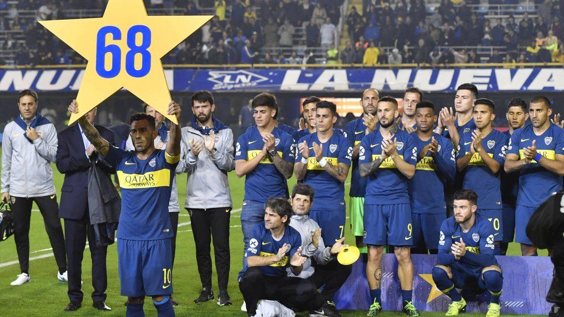 El desagradable gesto de Boca para River en los festejos por la Supercopa