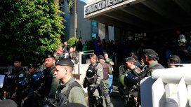Allanamiento a la sede Camioneros: la Justicia se equivocó de dirección