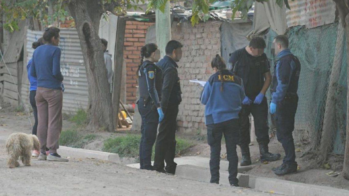 Una nena de 3 años fue asesinada en medio de un tiroteo. Foto: Los Andes