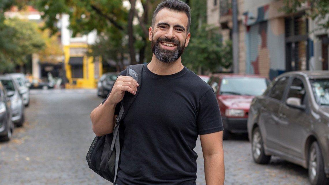 Pablo Colangelo es el argentino que vivirá tres meses a Grottole. Foto: Airbnb