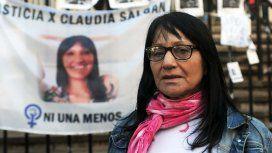 Florencia Cabrera, la madre de Claudia Salgán, reclamó justicia por su hija