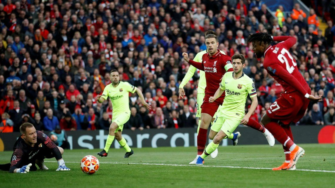 ¡Remontada histórica! Liverpool goleó 4-0 a Barcelona y es finalista de la Champions League