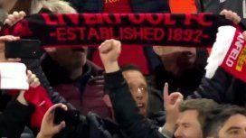 VIDEO: El emotivo himno de Liverpool y sus hinchas tras la remontada histórica
