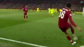 Con una de potrero: el inolvidable gol que le dio el pase a la final a Liverpool