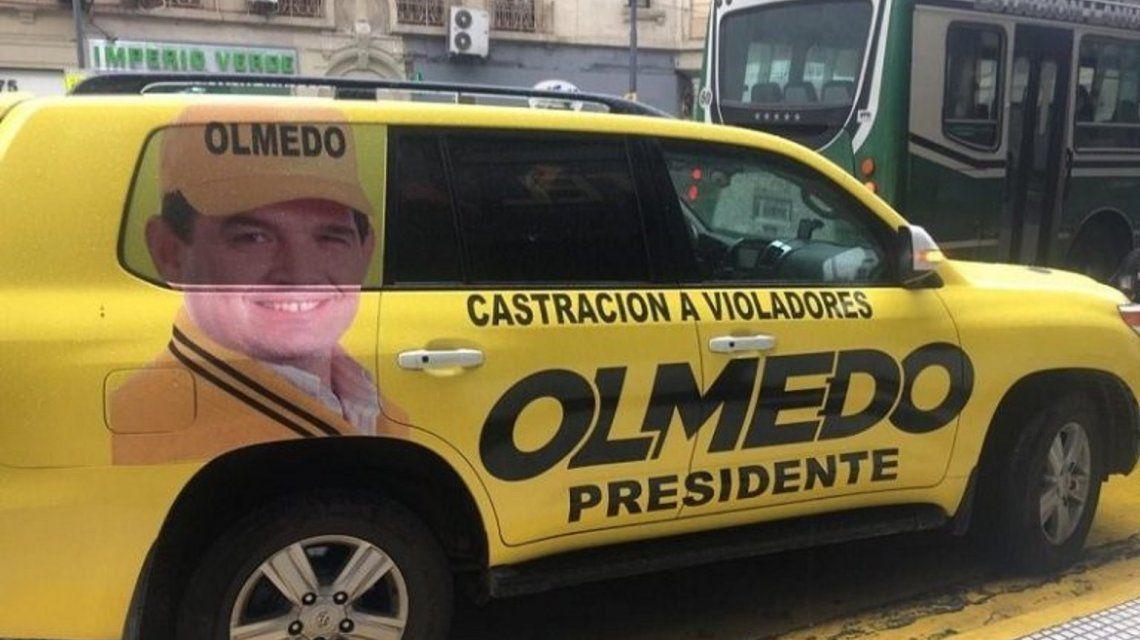 Balearon la camioneta de Alfredo Olmedo en Salta