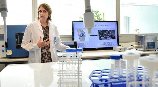 Marina Simian científica del Conicet. Foto: Universidad Nacional de San Martín<p></p><p></p><p></p>