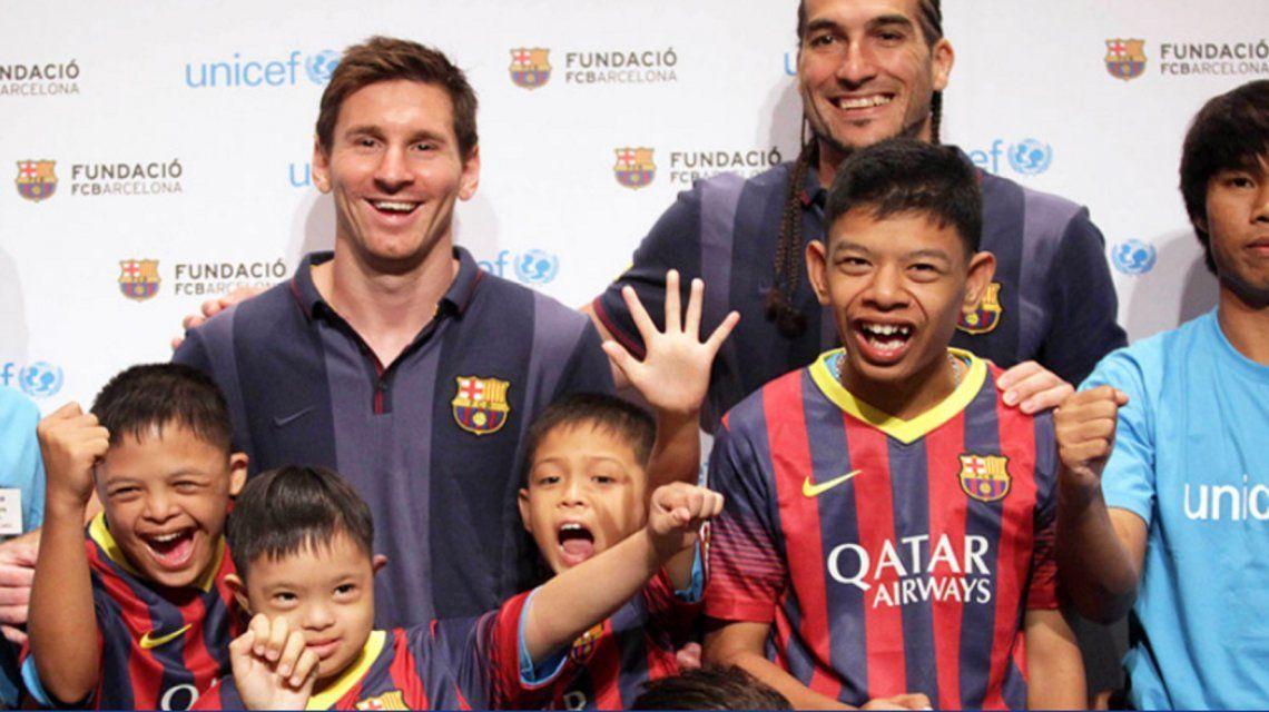 Foto: Fundación Leo Messi
