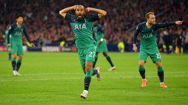 Hazaña del Tottenham de Pochettino: le ganó sobre la hora al Ajax y hay final inglesa