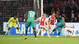 Así fue el gol agónico de la hazaña del Tottenham para llegar a la final
