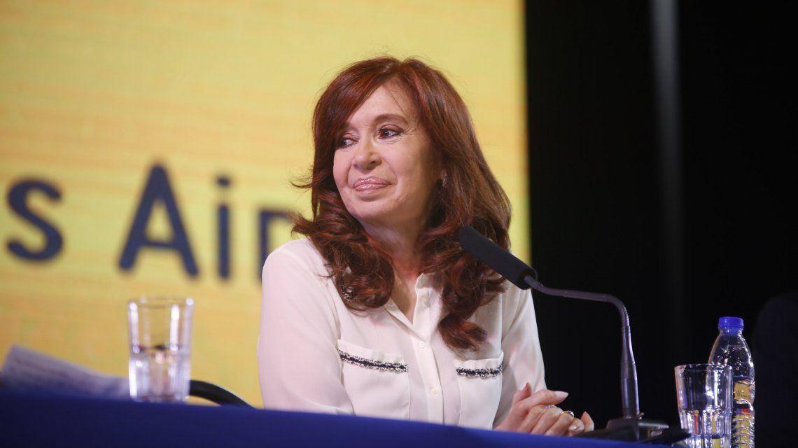 VIDEO: El discurso completo de Cristina en la presentación de Sinceramente