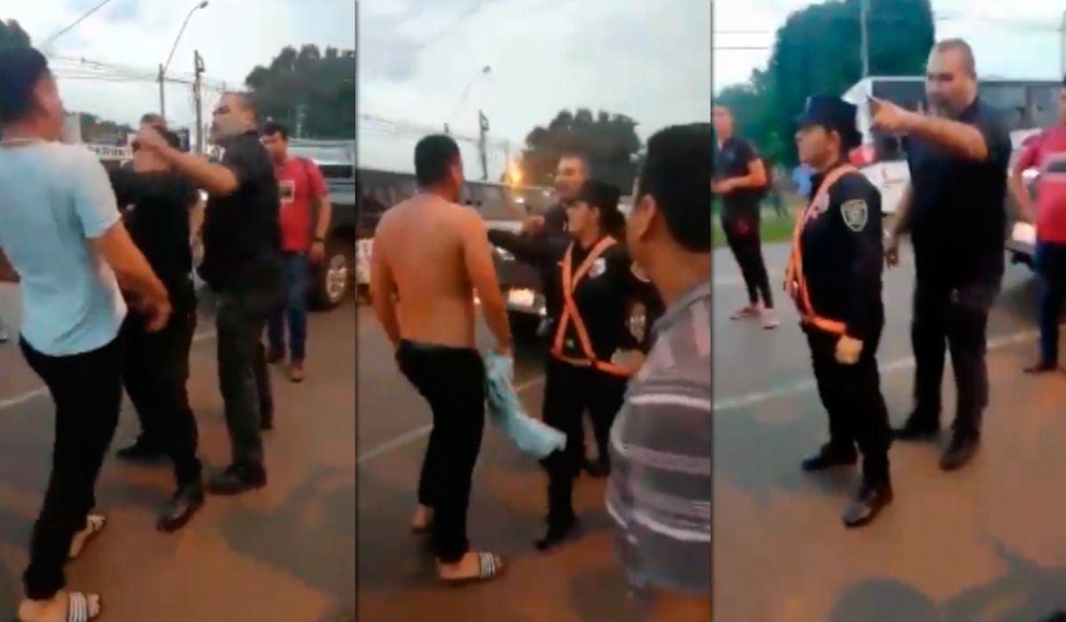 Chilavert se peleó en plena ruta con un colectivero: golpes, insultos y una policía agredida