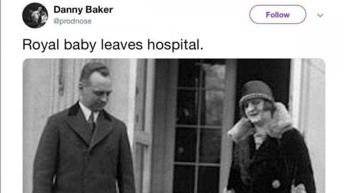 Baker quiso hacer un chiste sobre el circo de la realeza y no le salió