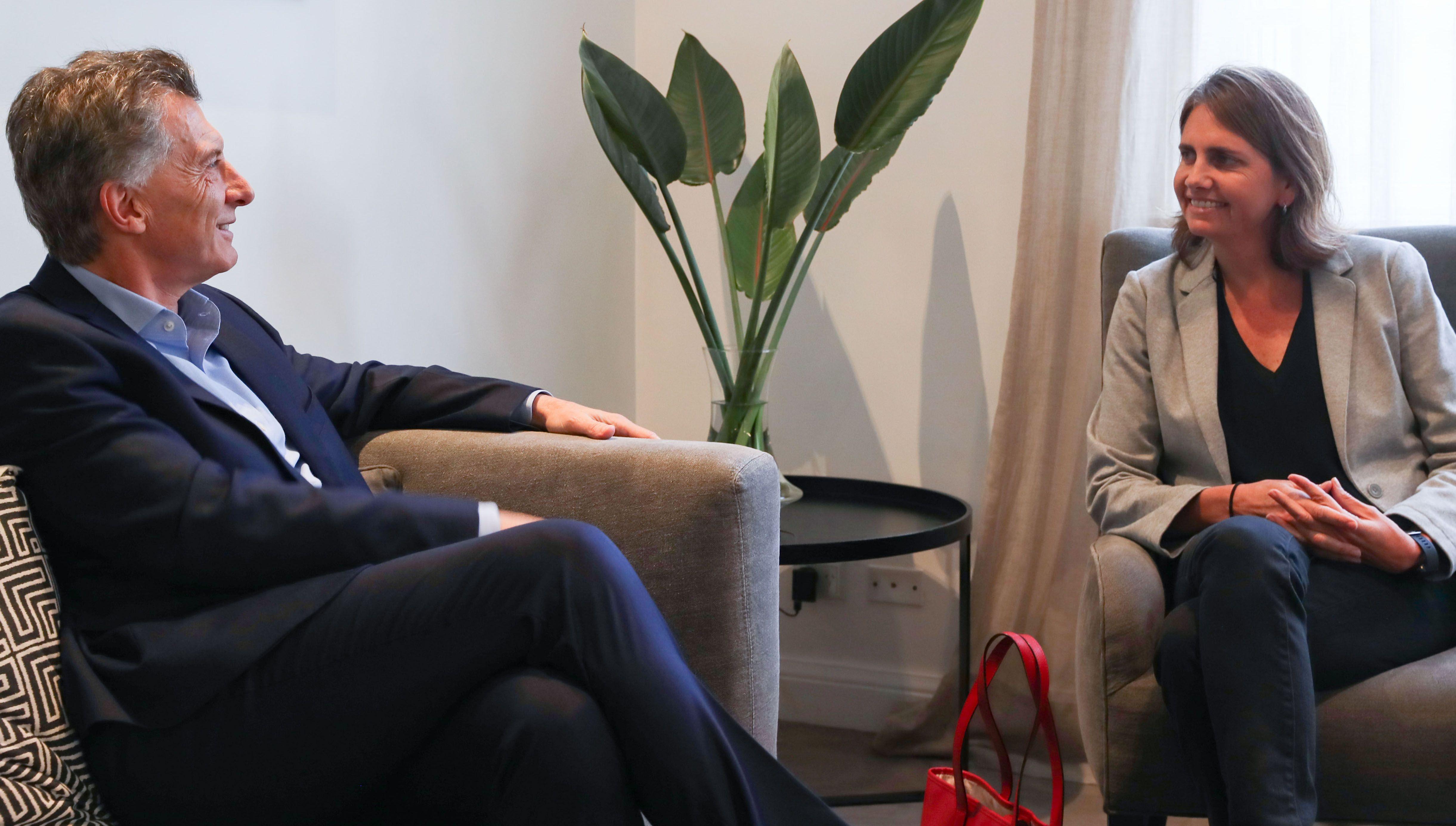 Macri recibió a la científica del Conicet que fue a un concurso de TV para conseguir fondos