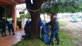 Así fue el traslado de los detenidos por el ataque al diputado Olivares y su asesor Yadón