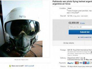 El casco de Miguel Manuel Navarro se vendió por 700 mil pesos