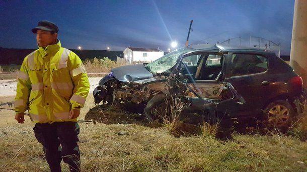 Un empresario murió en un trágico accidente en Tierra del Fuego. Foto: El Sureño<p></p><p></p><p></p>