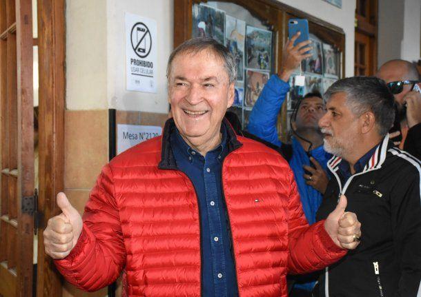 Juan Schiaretti va por la reelección<br>