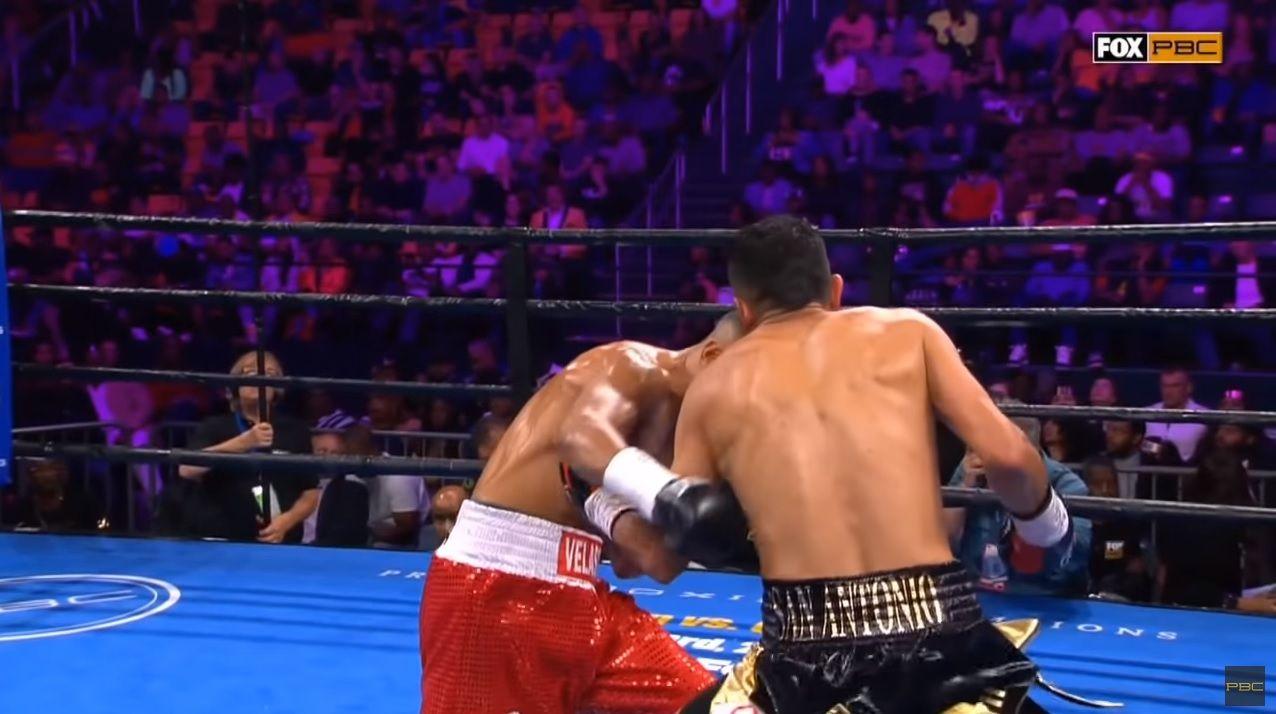 Boxeo: el KO de Mario Barrios contra el argentino Velasco