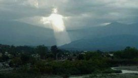 Creer o reventar: una figura de Jesús en el cielo conmovió a todos en Jujuy
