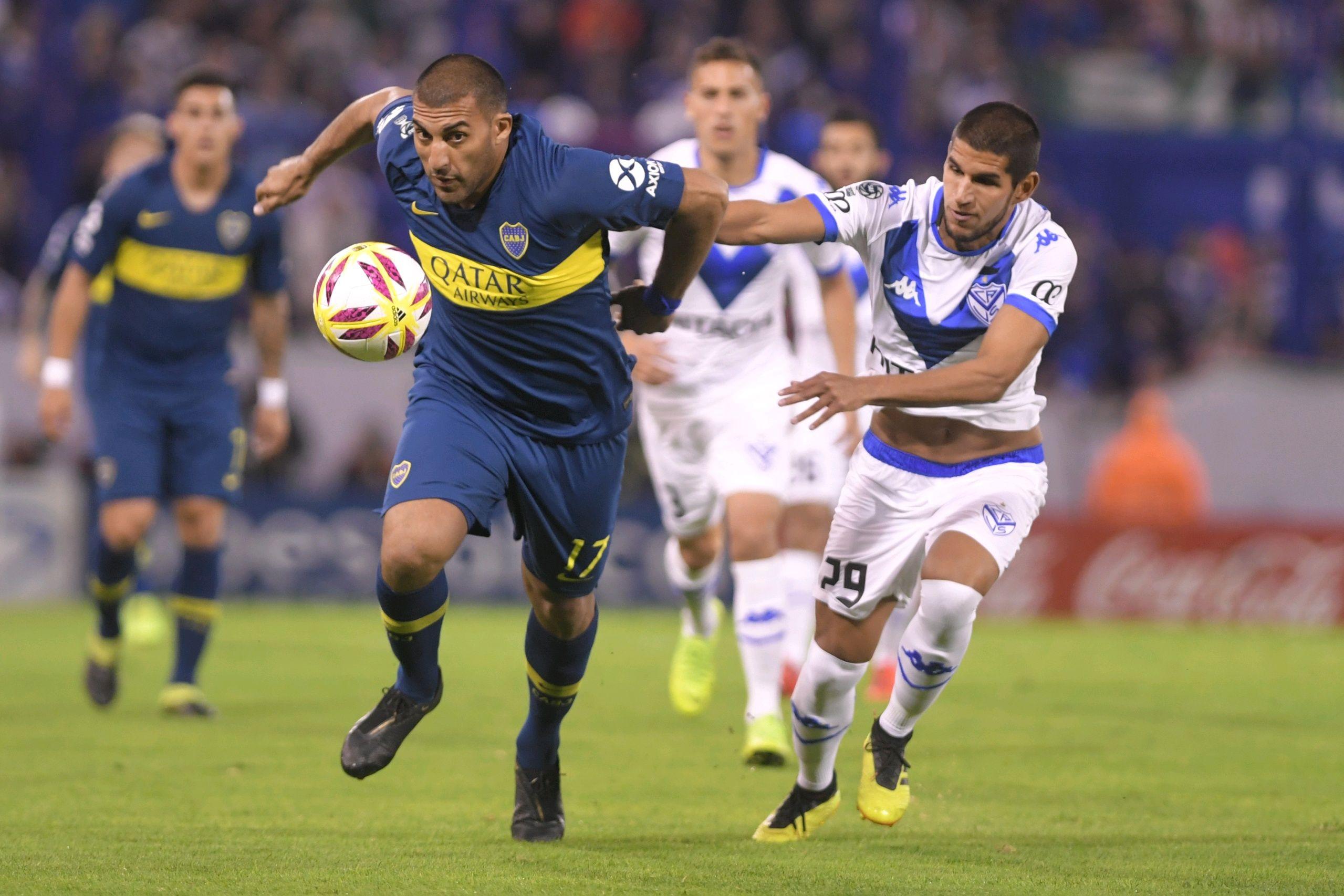 La peor noticia para Boca antes de la revancha con Vélez: se desgarró Wanchope Ábila