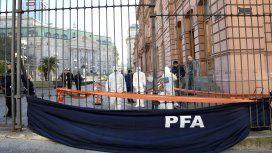 Detuvieron en Casa Rosada a un hombre armado que decía quería ver a Mauricio Macri