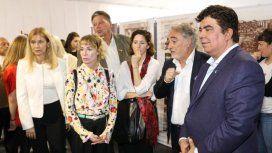 Inauguraron una muestra sobre Ana Frank en La Matanza