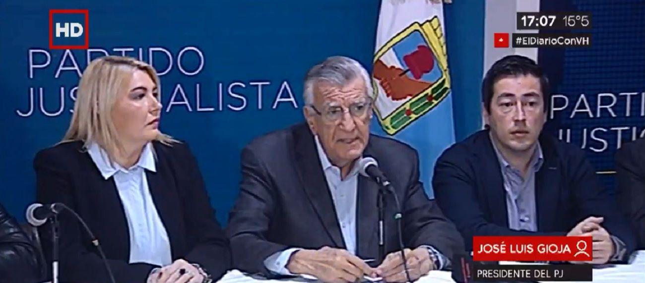 Cumbre del PJ: Antes de fin de mayo vamos a tener conformado un gran frente electoral opositor